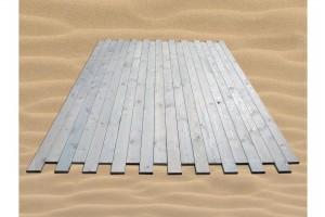 Επένδυση εξέδρας με ξύλινο δάπεδο Deck Θαλάσσης (Αυλακωτό ή Λείο)